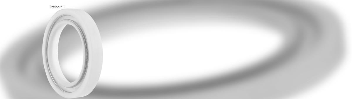 Das Design stammt aus den Anfängen der PTFE-Wellendichtringe und wird selten in Neu-Konstruktionen eingesetzt - Prelon Dichtsystem