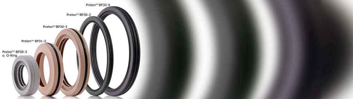 PTFE-Wellendichtringe in verschiedensten Durchmessern bis 1000 mm - Prelon Dichtsystem