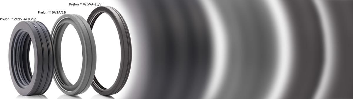 RWDR zur Medientrennung / für Wechselbeanspruchung (Druck und Vakuum) - Prelon Dichtsystem