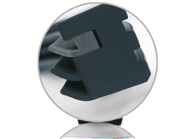 Besonders geeignet sind sie als Mischerdichtungen, Pumpendichtungen oder Rührwerksdichtungen - Prelon Dichtsystem